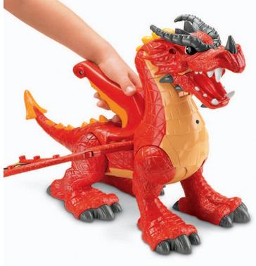 Imaginext Eagle Talon Castle Dragon