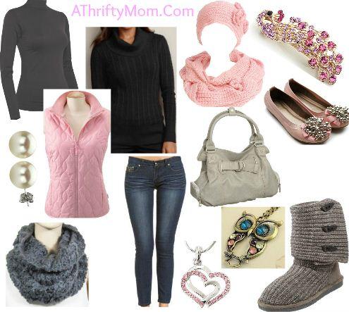cool pink style fashion board