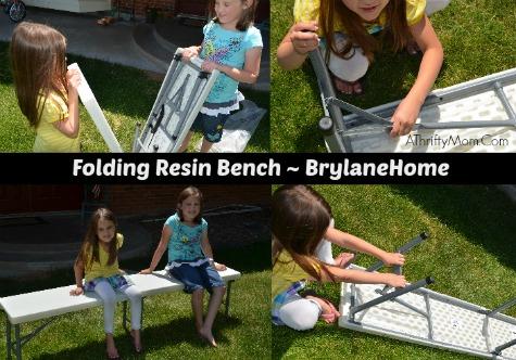 brylandHome folding bench